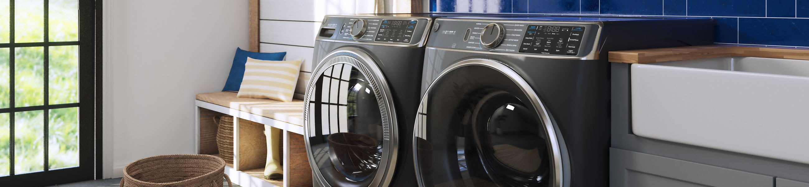 UltraFresh washer and dryer