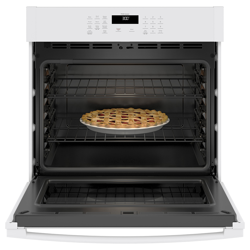 """Title GE 30"""" Built-In Single Wall Oven White - JTS3000DNWW ..."""